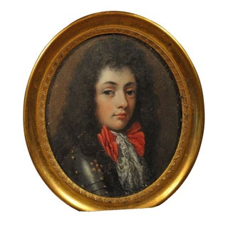 Miniature Portrait of Young Charles II of England