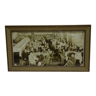 1942 Vintage Russian War Relief Dinner Photograph