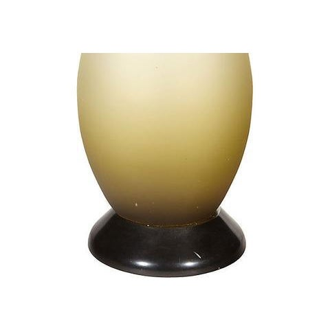 1960s Italian Frosted Glass Table Lamp - Image 3 of 4