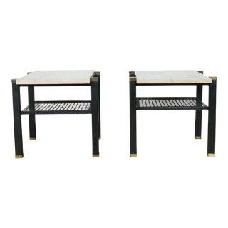 Harvey Probber Style End Tables - a Pair