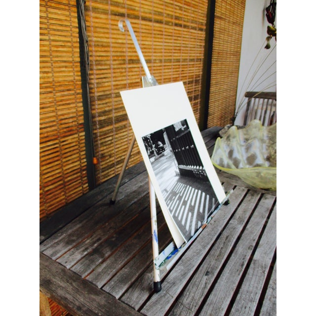 Folding Easel & Original NYC Subway Photograph - Image 6 of 11