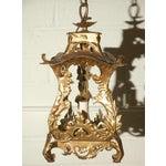 Image of Pair of Venetian Style Tole Lantern Pendants