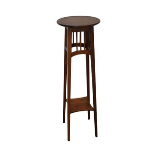 Ethan Allen Solid Cherry Plant Stand