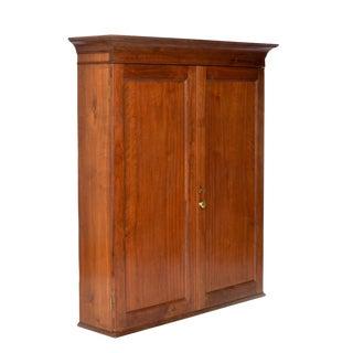 Antique Walnut Upper Cabinet
