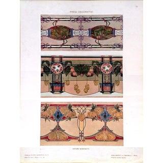 1910 Modelli d'Arte Decorativa Marchetti Print