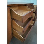 Image of Broyhill Brasilia Mid Century Walnut Long Dresser