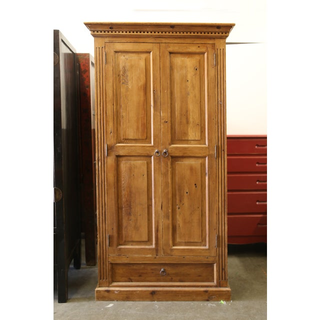 Pine Jelly Cabinet or Armoire - Image 2 of 4