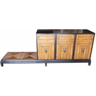 Renzo Rutili for Johnson Storage Cabinet & Bench