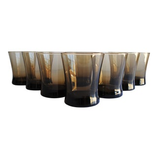 Mid-Century Cocktail Glasses, Set of 8
