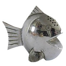 Silver-Plated Tropical Fish Shaker