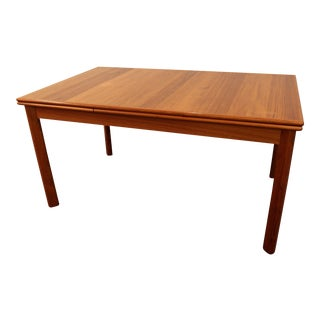Mid-Century Danish Modern BRDR Furbo Extendable Teak Dining Table