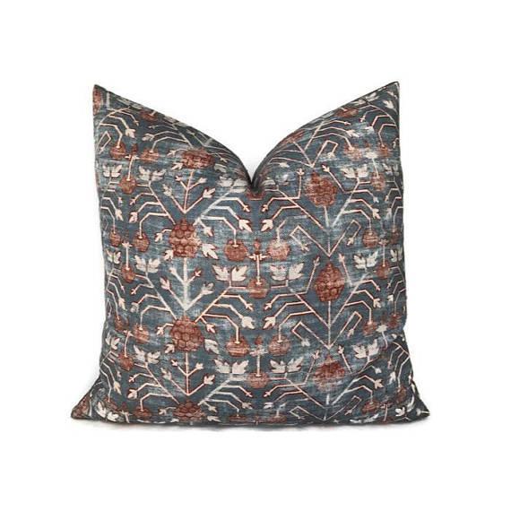 Patterned Zak & Fox Khotan Pillow Cover - Image 5 of 5