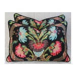 Image of Designer Ralph Lauren Cadiz Mohair Pillows - Pair