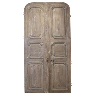 Pair of Large Late 18th Century Italian Doors