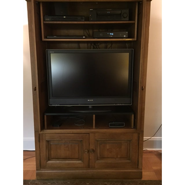 Ethan Allen Entertainment Center - Image 4 of 7