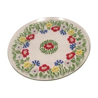 Mid Century Modern George Briard Glass Plate
