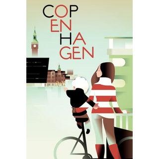 Retro Travel Poster, Copenhagen