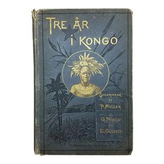 Antique African Kongo Book in Swedish