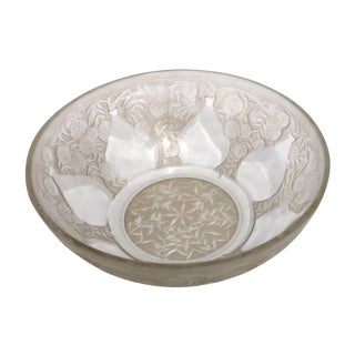Lalique Antique Aesthetic Movement Glass Bowl