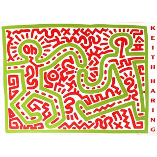 Keith Haring Untitled (1983) Poster