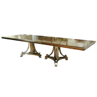 Customizable Classic Savannah Designer Dining Table by Randy Esada Designs
