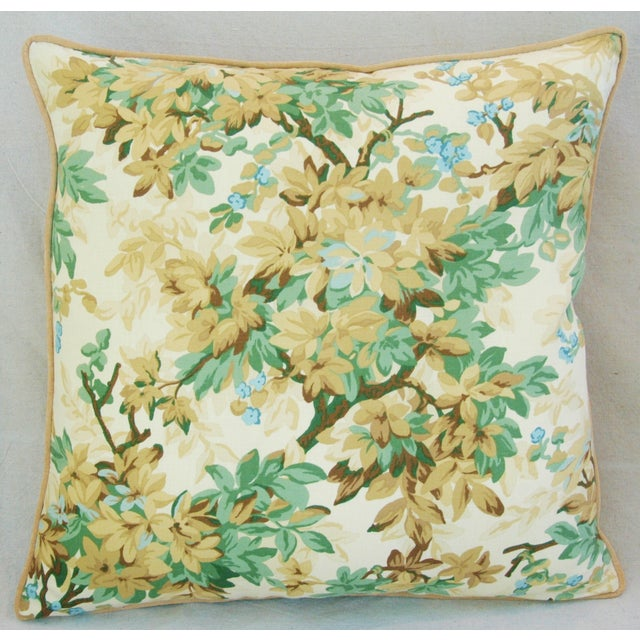 Designer Brunschwig & Fils Foliage Pillows - Pair - Image 5 of 11
