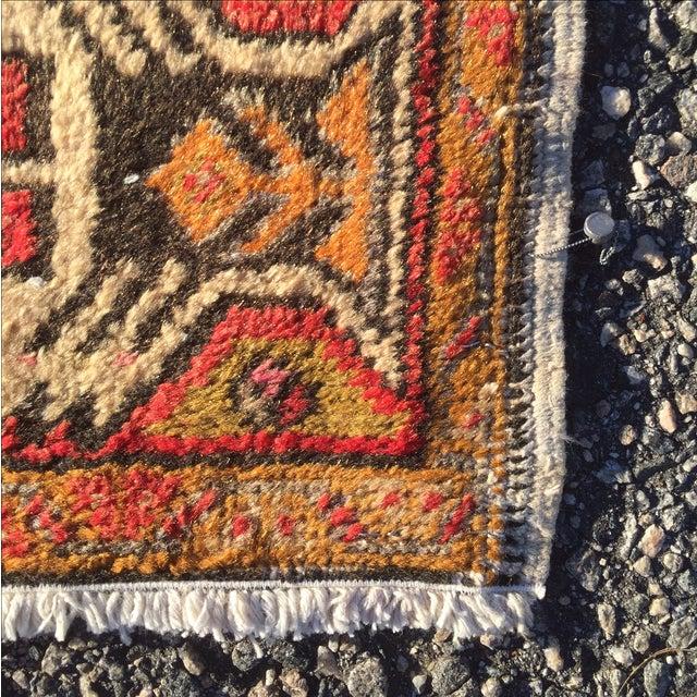 "Vintage Anatolian Persian Rug - 1'7"" X 3'4"" - Image 7 of 7"