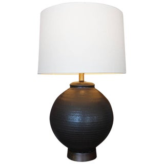 Large Ceramic Table Lamp by Affiliated Craftsman