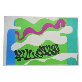 """Vintage Folio Size Matisse Print """"Jazz"""""""