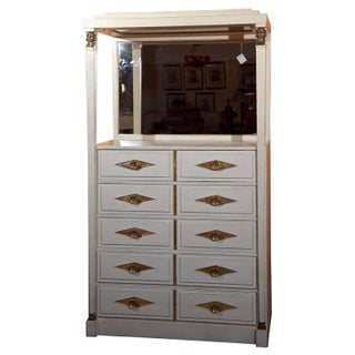 French Empire Vanity Dresser by Grosfeld House