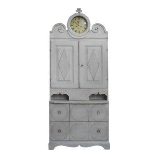Gustavian Clock Cabinet (#23-26)