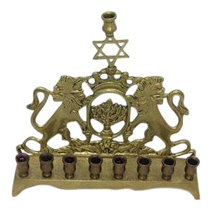 Jewish Hannukah Candle Holder
