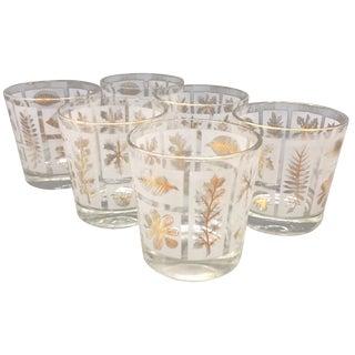 Vintage Bourbon Glasses - Set of 6
