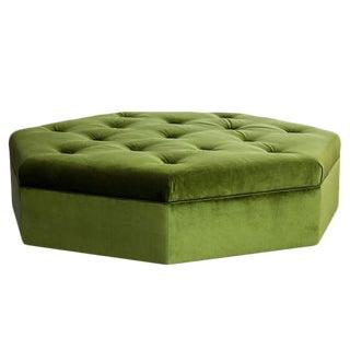 "Truex American Furniture ""Heptagonal Ottoman"""