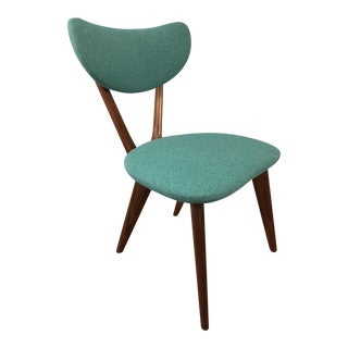 Kelbe Walnut Danish Side Chair