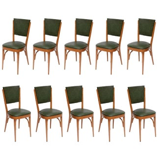 Italian Modernist Dining Chairs - Set of 10