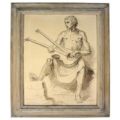 Image of Robert White Ink Drawing