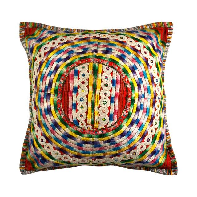 Upcycled Guatemalan Huipil Pillowcase - Image 1 of 5