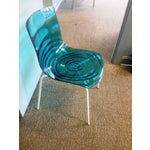 Image of Blue l'Eau Dining Chairs by Calligaris - Set of 8