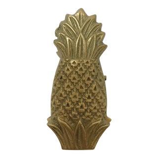 Vintage Brass Pineapple Clip
