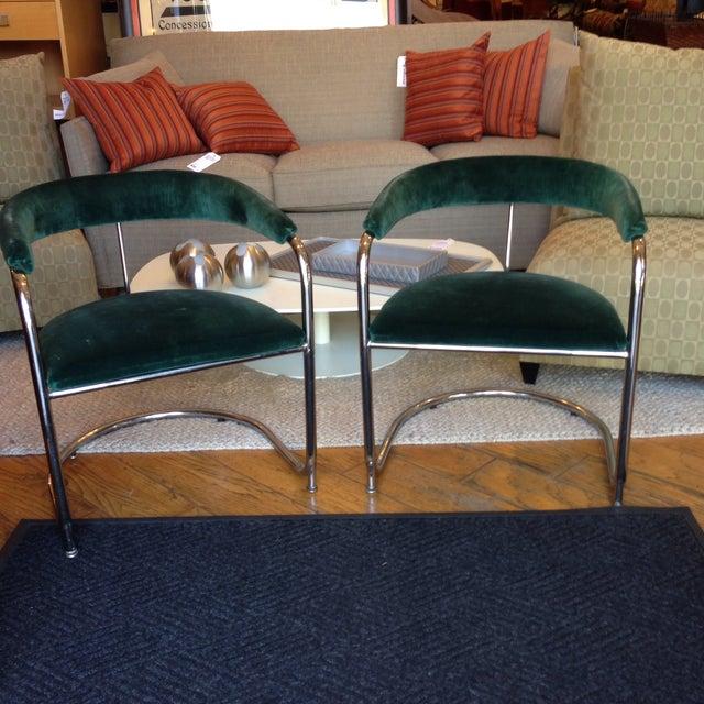 Vintage Anton Lorenz Thonet Chairs - Pair - Image 2 of 6
