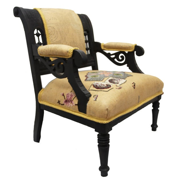 Armchair - Aesthetic Movement - Image 1 of 6
