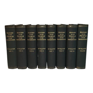 History of the People of the United States - Set of 8