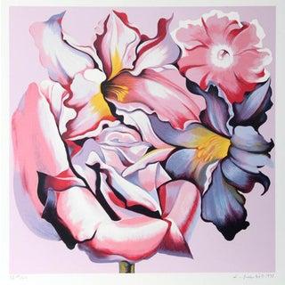 "1980 ""Rose Monochrome"" Print by Lowell Blair Nesbitt"