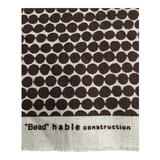 Hable Beads Fabric in Espresso