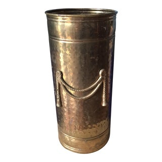 Brass Tassel Design Umbrella Stand