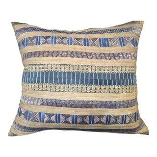 Chinese Hilltribe Silk Ribbon Pillow