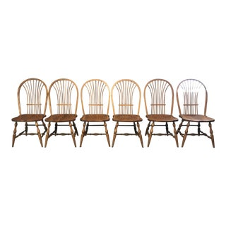 Tom Seely Wheat Back Chairs - Set of 6