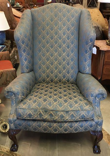 George Smith Wingback Chair   Image 2 Of 8