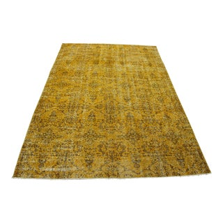 Oriental Turkish Overdyed Rug- 5′8″ × 8′9″